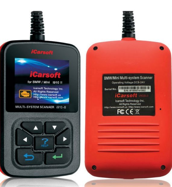 iCarsoft i910 II BMW MINI diagnostika